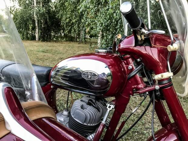 Мечта любого мальчишки в СССР авто, мото, мотоцикл, мотоцикл Ява, олдтаймер, ретро техника, ява