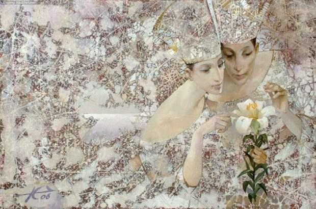 Романтическая живопись от Евгения Кузнецова.