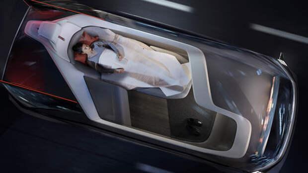 Volvo превратила беспилотник в спальню