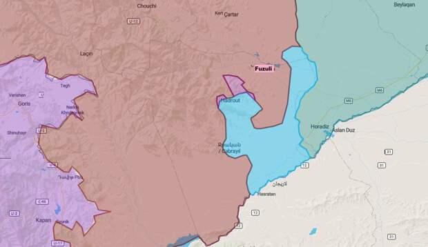 Коротко по Карабаху. 16.10.2020