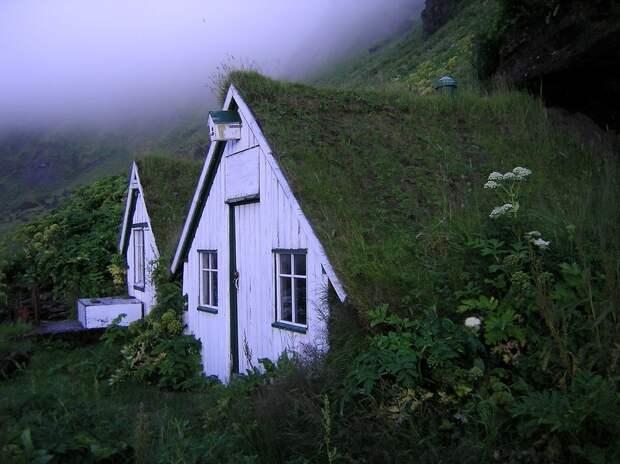 Великолепные дома вдали от цевилизации