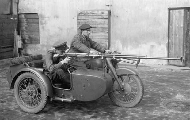 Мотоциклисты Красной Армии: как они громили немцев под Сталинградом