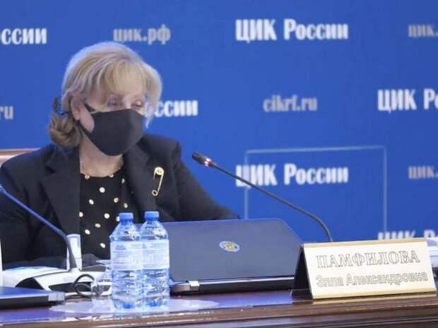 Памфилова нашла «пятую колонну» в избирательных комиссиях Петербурга