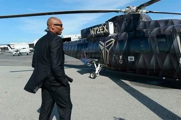 Названа причина крушения вертолета с Коби Брайантом на борту