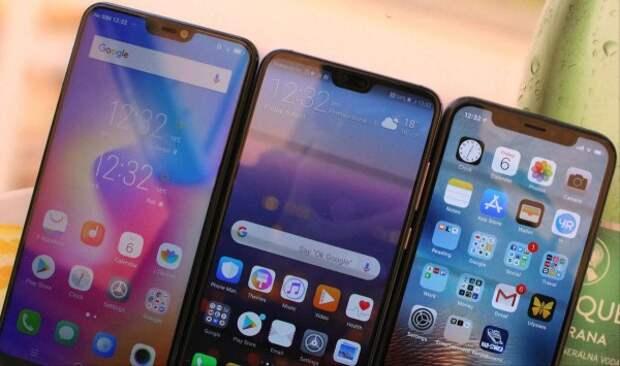 Самые лучшие смартфоны 2018 года