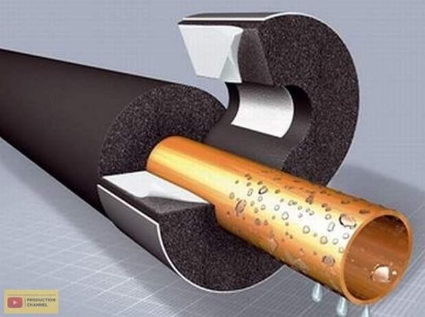 Как избавиться от конденсата на трубах. Возможно кому и понадобится