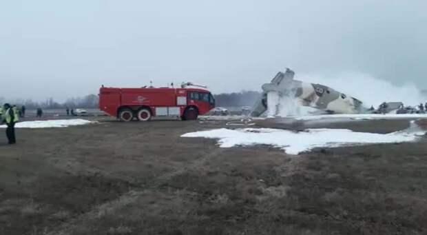 Военный самолет Ан-26 потерпел крушение в Казахстане