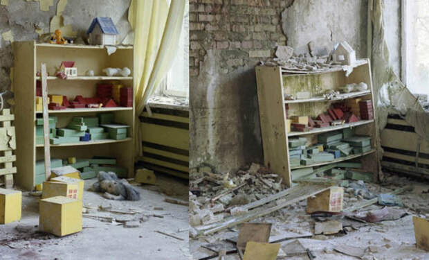 25 лет в Чернобыле: фотограф снял, как время стирает следы человека