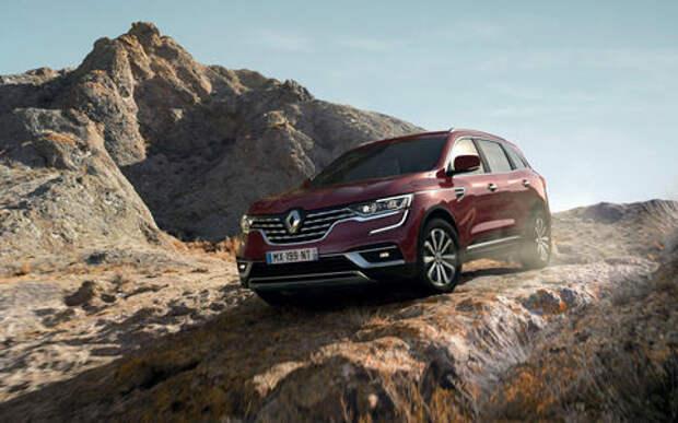 Обновленный Renault Koleos — первые подробности и фото