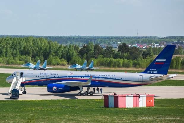 РИА Новости: Ту-214 ОН используют для разведки и оценки эффективности учений