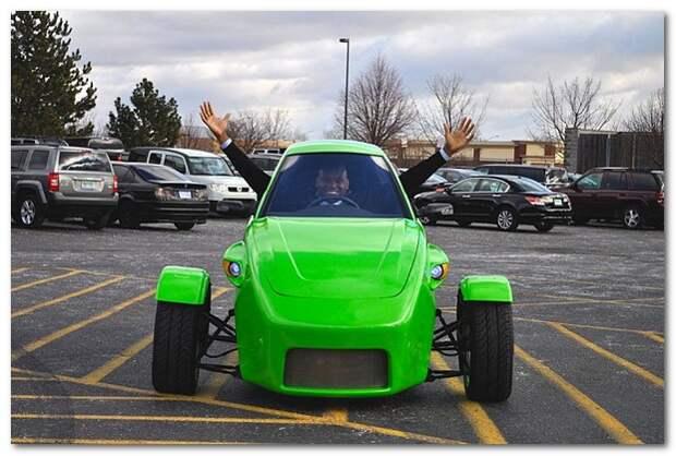 Самый экономный и дешёвый автомобиль в мире от компании Elio Motors