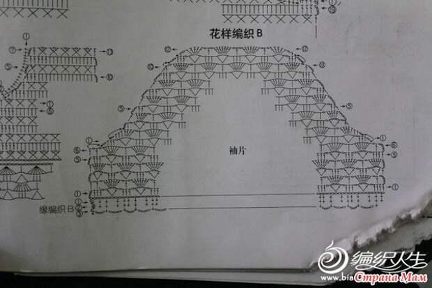 КЛАССИЧЕСКИЙ АЖУРНЫЙ ЖАКЕТ КРЮЧКОМ  (54-56 размер)