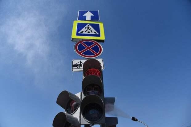 Собянин открыл движение по двум новым автодорогам в ТиНАО. Фото: Агентства Москва
