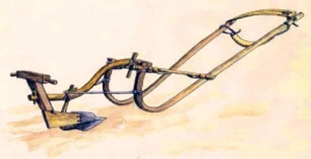Соха - пахотное орудие