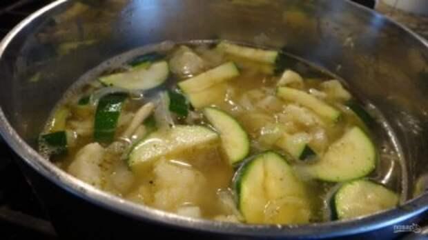 Суп с кабачками - фото шаг 3