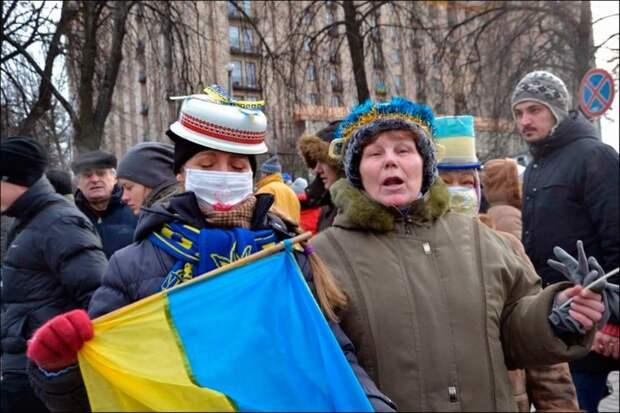 Скачущие украинцы своим появлением обязаны Советскому Союзу