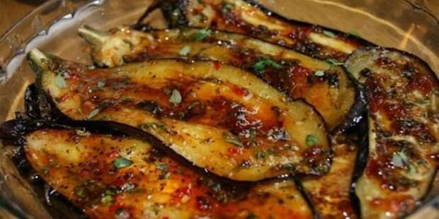 Быстрые пикантные баклажаны: лучшая закуска