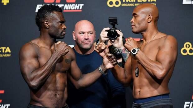 Холл тяжелее Сильвы, Фили и Митчелл показали одинаковый вес перед турниром UFC Vegas 12