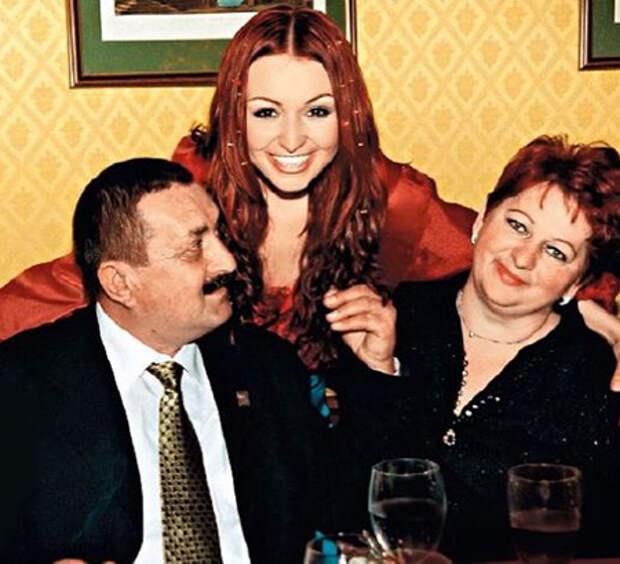 Катя Лель с родителями
