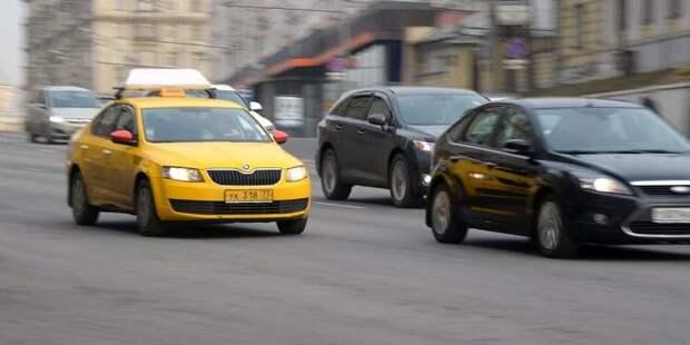 В июле в Савёловском пользовались услугами такси более 71 тысячи раз