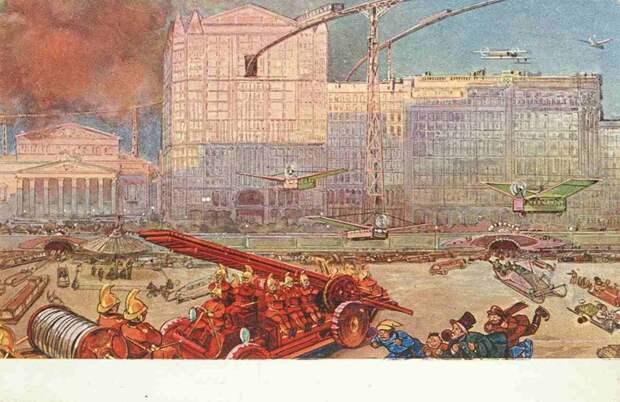 Театральная площадь история, открытки, факты