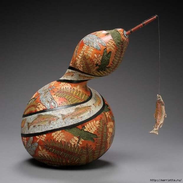 Резьба по тыкве. ШЕДЕВРЫ от Мэрилин Сандерленд (18) (700x700, 231Kb)