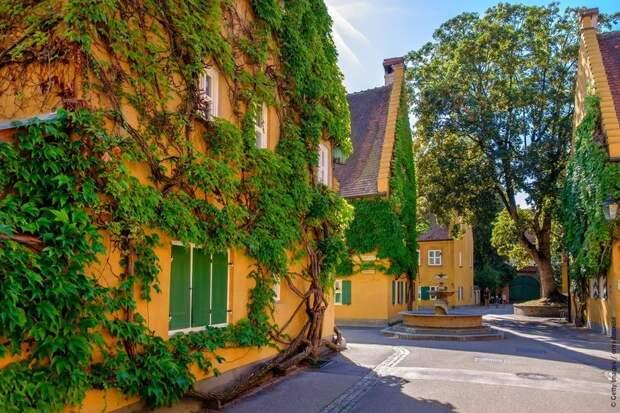 Уникальный немецкий город, где аренда жилья стоит 1 евро, и так уже 500 лет