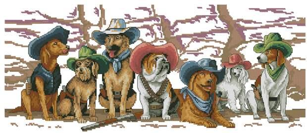 Собаки-ковбои