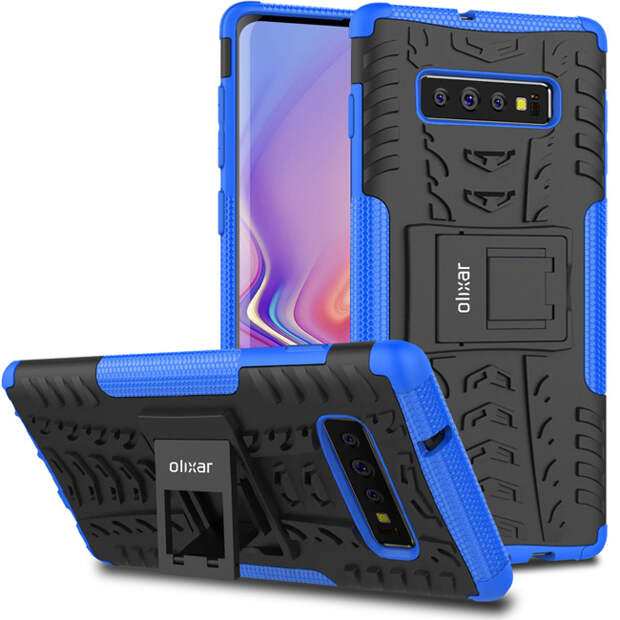 Опубликованы качественные рендеры всех трех смартфонов семейства Samsung Galaxy S10