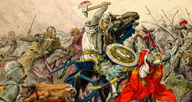 Битва при Пуатье 732 года