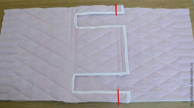 Стёганый чехол для швейной машины Diy