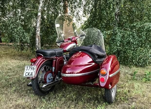 Кто помнит — сколько в 1972 года стоила такая Jawa с коляской? авто, мото, мотоцикл, мотоцикл Ява, олдтаймер, ретро техника, ява