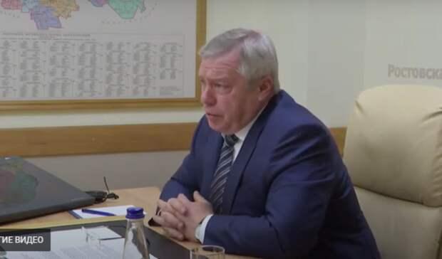 Глава Ростовской области Василий Голубев заявил, что хотел стать летчиком