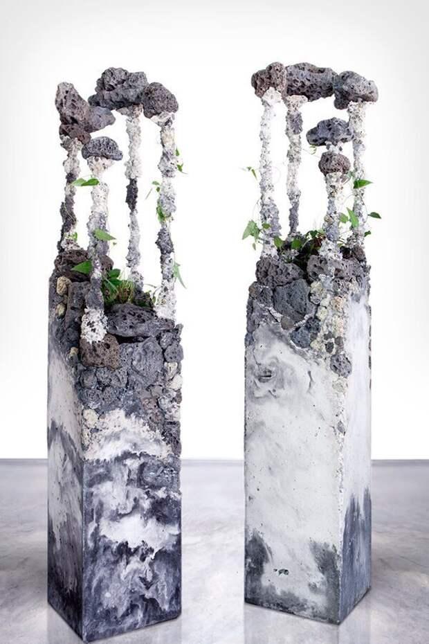Флористические скульптуры