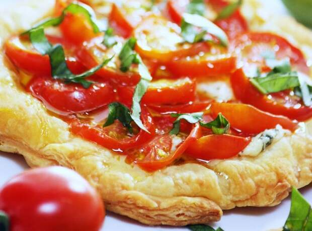 Итальянская пицца с рикоттой