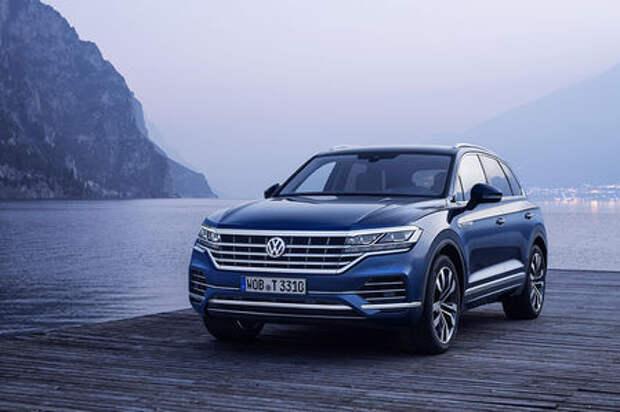 Компания Volkswagen объявила цены на новый Touareg