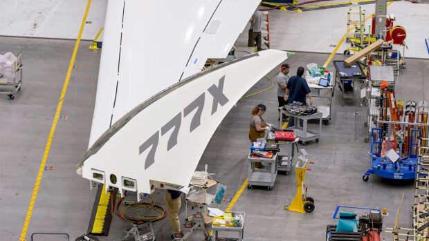 Кончик крыла 777х