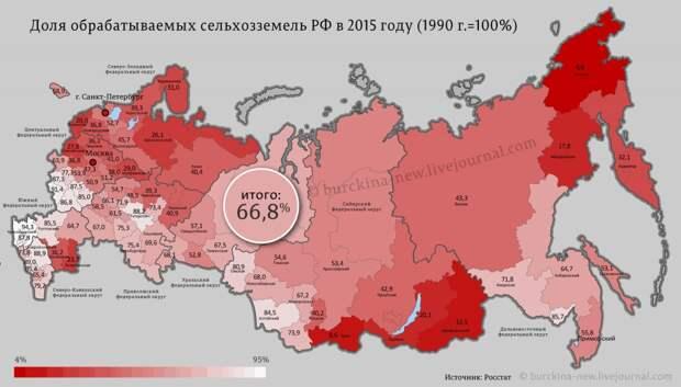 Россия - великая страна заброшенных земель