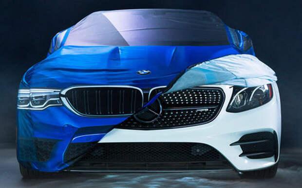 BMW потроллил Mercedes-Benz и... получил «ответку»!