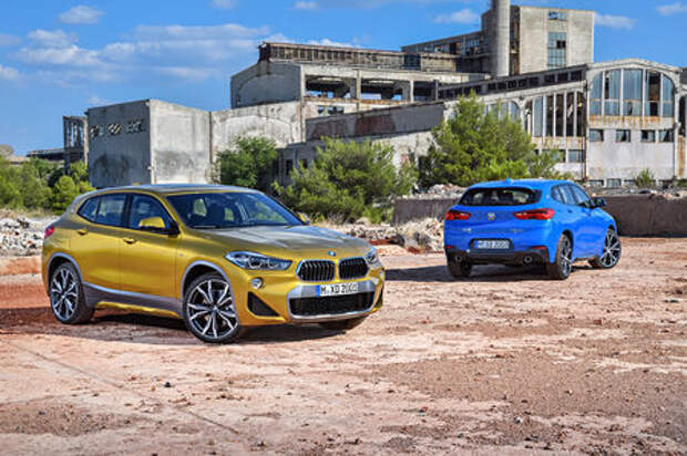 Мал, да удал: BMW рассекретила кроссовер X2