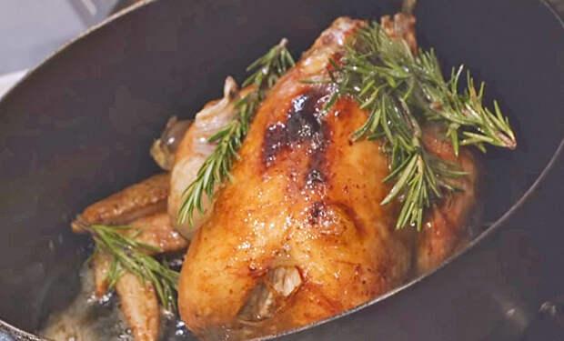 Курица как в мишленовском ресторане: готовим по рецепту звездного повара
