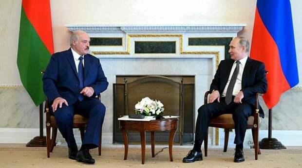 На Украине заявили о недовольстве Лукашенко после пятичасовых переговоров с Путиным