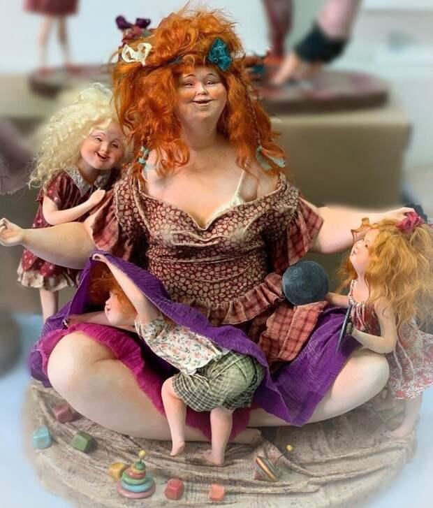 Куклы-толстушки, которые доказывают, что красоту лишними килограммами не испортишь