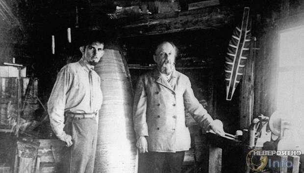 В 1917 году друг Циолковского полетел на Луну