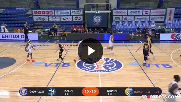 Kalev vs. Khimki Condensed Game April, 17 | Season 2020-21