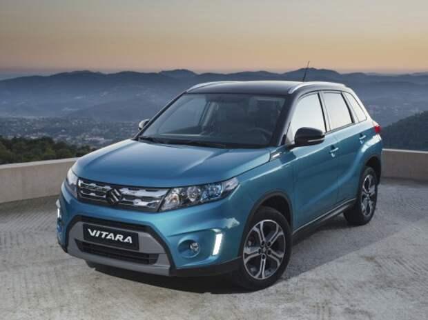 Названа дата начала продаж новой Suzuki Vitara в России