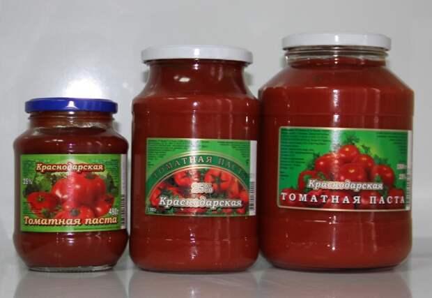 Томатная паста - универсальный продукт на все случаи жизни / Фото: protprom.ru