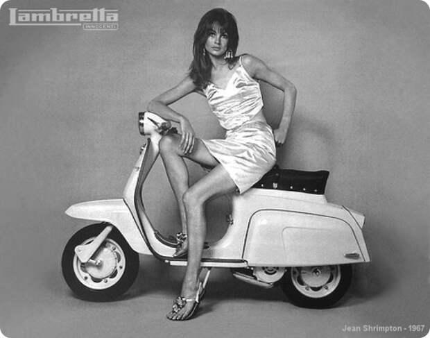 Мини-юбки в 1960-70х годах