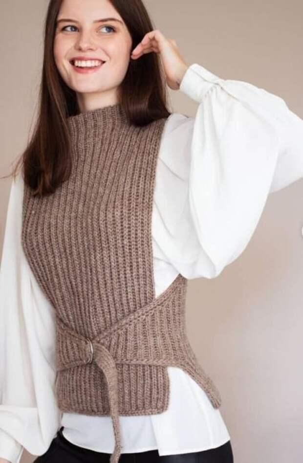 17 необычных вязаных моделей одежды удивительной красоты
