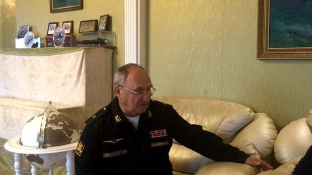 Восемь лет под водой: Умер легендарный русский контр-адмирал